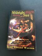 Midnight Sun The Complete Stories Of Kane By Karl Edward Wagner First Edition Hb