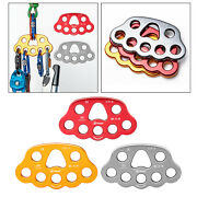8-hole Rigging Plate Paw Anchor Point 4500kg Aerial Dance Ropes Accessories