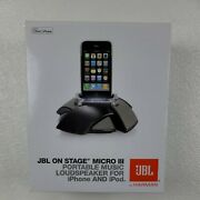 Jbl On Stage Micro Iii Portable Music Loudspeaker For Iphone And Ipod