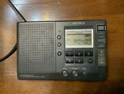 Sony Model Icf-sw30 Shortwave Compatible Radio Box Instructions Available Used