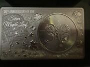 2018 Canadian Maple Leaf 30th Anniversary 3 Oz .9999 Silver Coin And Bar Set