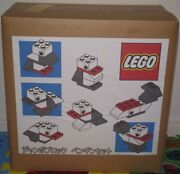 Lego Jumbo Block Penguins Set Over-the-counter Exhibits Very Rare Toys Unopened