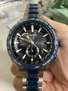 Seiko Astron Sbxa019 Date 7x52-0af0 World Time Gps Solar Mens Watch Auth Works