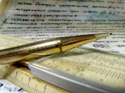 Your Yard-o-led Rolled Gold Vintage Antique Propelling Pencil - Leads Included