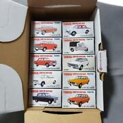 164 Scale Japanese Tomica Limited Vintage Neo Series 10 Pcs Set Tomy Tec Used