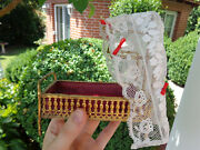 Antique Ormolu Doll House Toy Erhard And Sons Erhard Soehne For Mignonette Doll