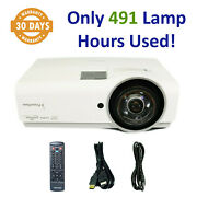 Promethean Prm-45a Dlp Projector Short-throw 3600 - Only 491 Lamp Hours Used