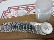 Uncirculated Roll Of 20 1964 Canada Silver Dollars