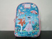 Loungefly Mary Poppins Jolly Holiday Mini Backpack New With Tags