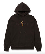 Bnwt Concepts Ankh Hoodie Black Fleece Size Large L Kyrie Dunk Snkrs Ss21 Retro