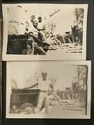 Wwii Black African American 5th Aaf Photo Group. Captured Japanese Tank Army Air