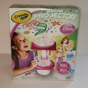 Crayola Disney Princess Sketcher Projector 6 Markers,6 Drawing Disc, Tracing She