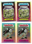 2013 Garbage Pail Kids Chrome Base And Lost Refractors Sets 110 Cards Total