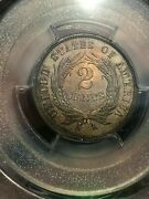 1865 Two 2 Cent Piece- Pcgs Certified Proof Coin