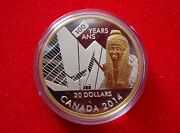 2014 Canada 20 100th Anniversary Of The Royal Ontario Museum Fine Silver Proof