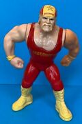 Hasbro Wwf Hulk Hogan Mail Away All Original Red Outfit Action Works