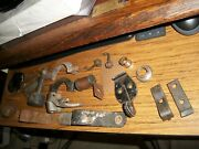 Misc Model A Ford Parts - See All Images - Includes Exhaust And St Wheel Clamps