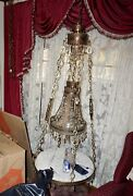 Hanging Italy Marble-table-lamp-chandelier