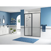 Legend 44.5 In. To 46 In. X 69 In. Framed Hinged Shower Door With Inline Panel I