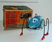 Vintage Triang Minic Great Spider Clockwork Toy Lines Bros 1950s Rare Boxed D622
