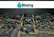 40k Iron Hands Battle Ready Army Space Marines Gw Pro Painted To Order