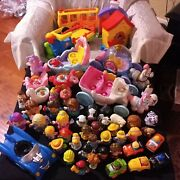 Fisher Price Little People Disney Princess Lot 30 Figures 3 Carriages And More