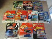 Johnny Lightning Mixed Lot Of 10 Different James Bond/monsters/surf Rods/clue