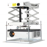 Cgoldenwall 100cm Electric Projector Lift Scissors Ceiling Mount Projector For