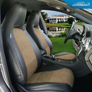 Coverking Ultisuede Leatherette Custom Seat Covers For Acura Tsx - Made To Order