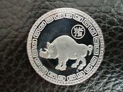 Year Of The Boar Vintage Chinese Zodiac 1oz Silver Coin Limited Edition