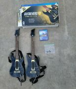 Ps4 Guitar Hero Live Supreme Party Edition 2 Guitars 2 Dongles 2 Straps + Game