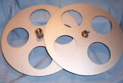 16mm 1400and039 12.25 Goldberg Motion Picture Film Movie Projector Take Up Split Reel