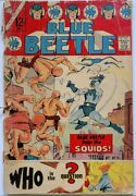 Blue Beetle 1 Charlton Comics 1967 1st Appearance Of The Question Key Low Grade