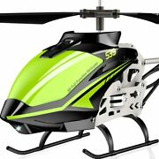 Rc Helicopter S39 Aircraft 3.5 Channel Gyro Stabilizer Alloy 2 Speed 2 Batteries