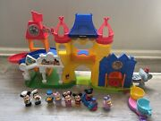 Fisher Price Little People Day At Disney Magic Kingdom Playset Complete Teacups