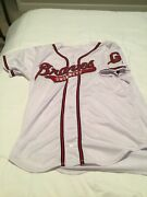 Ozzie Albies Game Used Worn Gwinnett Braves 2017 Home Jersey And Pants.