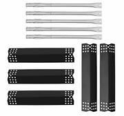 5 Pack Heat Plate Shields Flame Tamers Stainless Steel Pipe Burner 5 Pack
