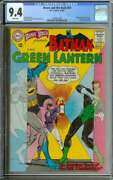 Brave And The Bold 59 Cgc 9.4 White Pages // Batman + Green Lantern Story 1965