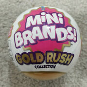 Zuru - 5 Surprise Mini Brands - Gold Rush Collection - Sealed - Limited Edition