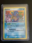 Squirtle 64/100 Reverse Holo Ex Crystal Guardians Pokemon Card Nm Stamped