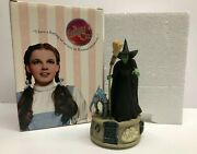 Wizard Of Oz Wicked Witch And Nikko Figurine Music Box Plays Music San Francisco