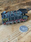 Antique Tin Litho Early Toy Wind Up Steam Train Old Mistral Works