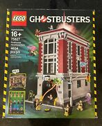 Lego 75827 Ghostbusters Firehouse Headquarters Retired Sealed New