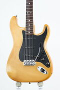 Electric Guitar Fender Stratocaster White 1980 21f Ash Body Right Handed Used