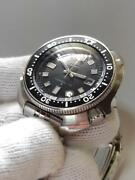 Seiko 6105-8110 Vintage Diver Overhaul Automatic Mens Watch Authentic Working