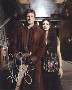 Nathan Fillion As Mal Reynolds - Serenity/firefly Genuine Signed Autograph