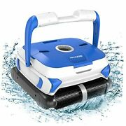 Wall-climbing Automatic Pool Cleaner With Twin Large 180um Filter Basket,