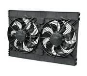 Electric Cooling Fan - High Performance - Dual 12 In Fan - Puller - 3168 Cfm - C