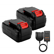 Shentec 2 Pack Ni-mh 3.0ah 18v Replacement Battery Compatible With Porter-cable