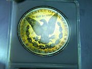 1883-o Morgan 1 Anacs Ms 63 Dmpl In 30yr Old Small Holder Pq Coin Nice Color